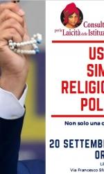 USO DEI SIMBOLI RELIGIOSI IN POLITICA